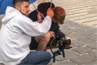 Jay Octavouj und MKMedia beim Musikvideodreh