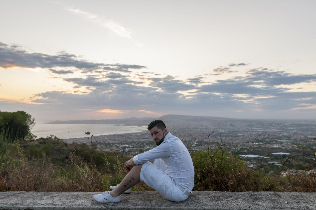 Jay Octavouj in Neapel