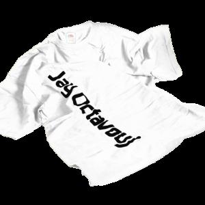 T-Shirt-weiss-Jay Octavouj