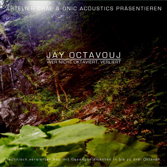 CD Cover Wer nicht oktaviert verliert WNOV by Jay Octavouj
