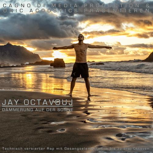 CD Cover Dämmerung auf der Sonne DadS Jay Octavouj